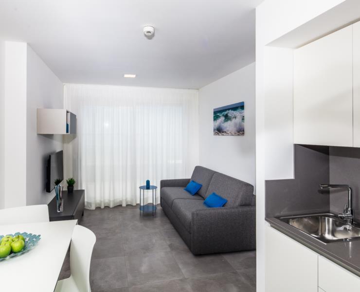 Appartamento bilocale BLU