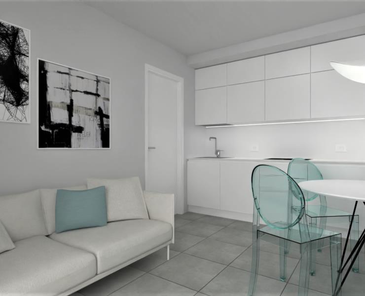2-Zimmer-Wohnung MIRAMAR - ZWEITE GESCHOSS